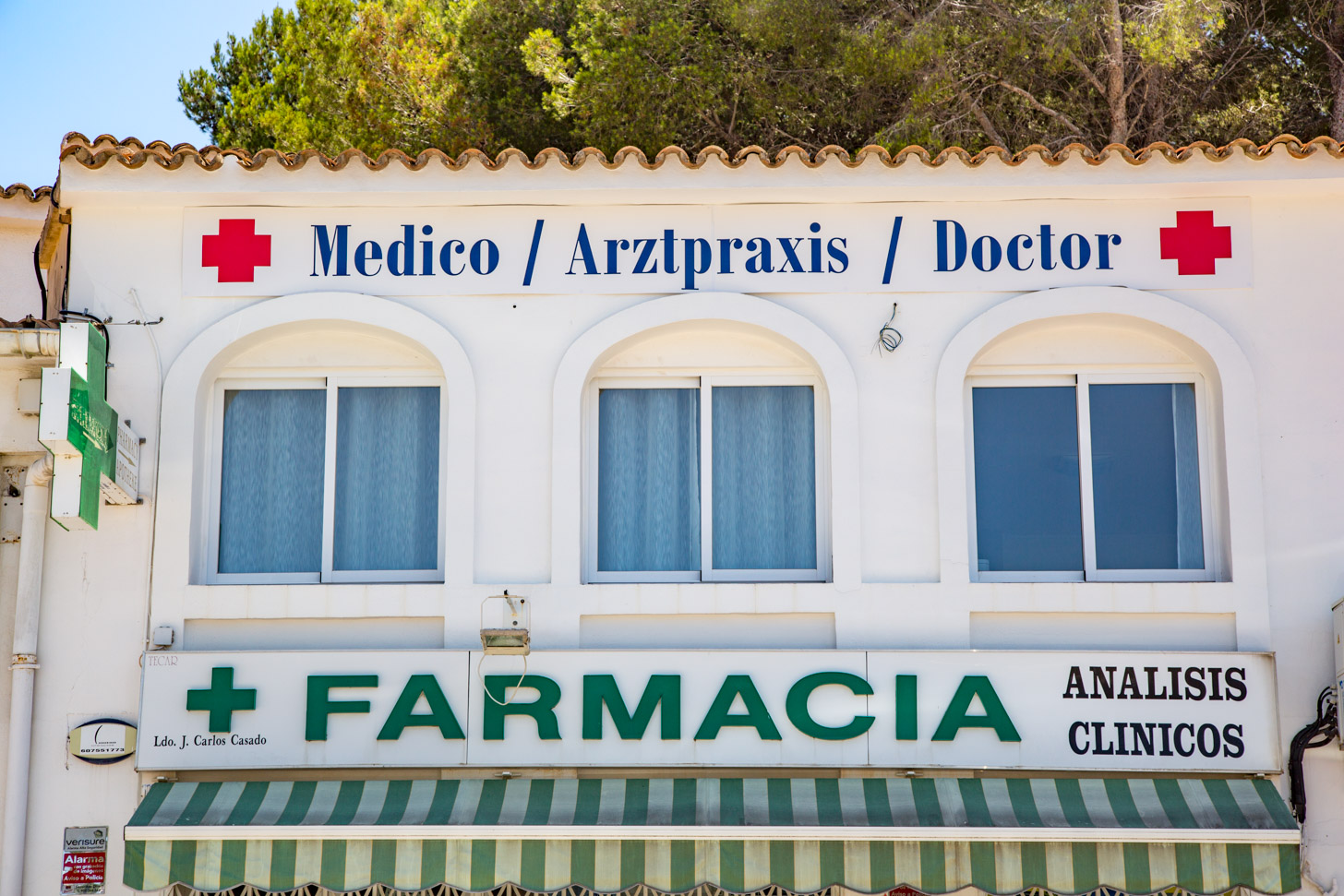 Apotheek in Moraira