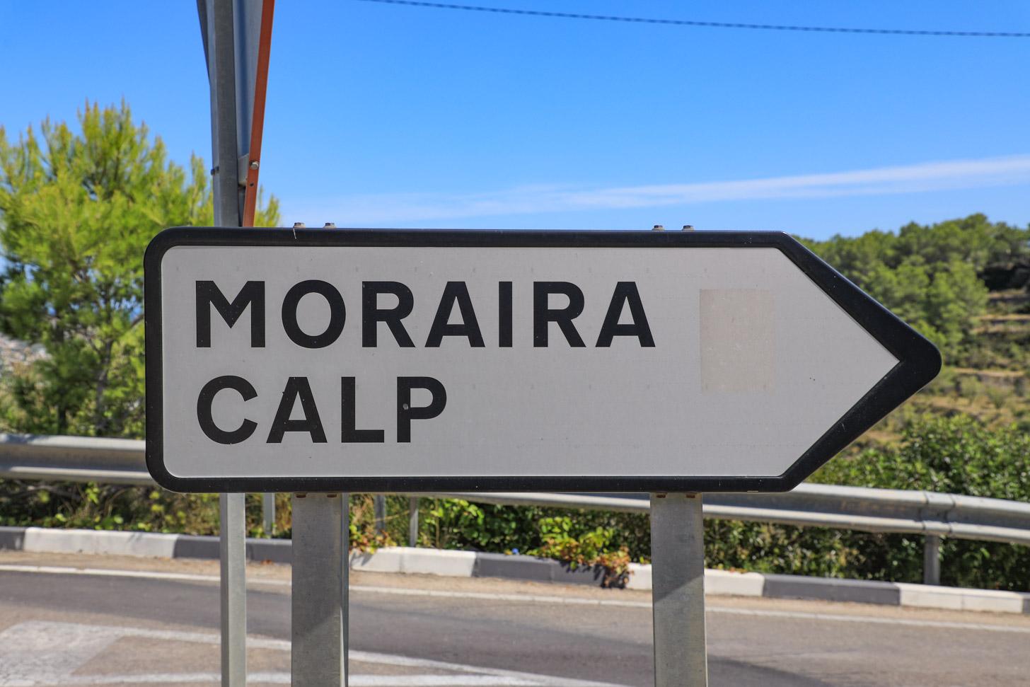 Reizen naar Moraira