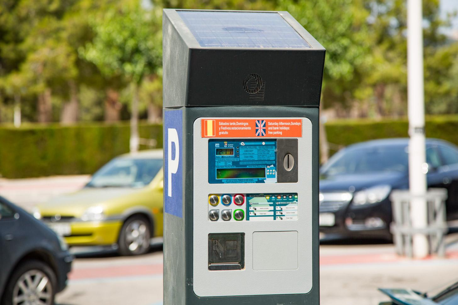 parkeren in Moraira kost geld