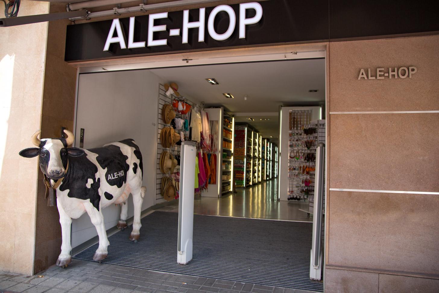 Ale Hop is een populaire winkel in Moraira