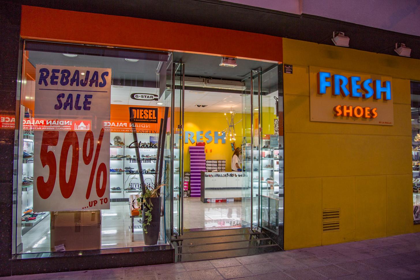 Schoenen kopen in Moraira